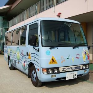 エンゼル幼稚園バス「テレタビーズ号」